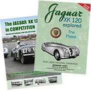 XK 120 Explored (revised) and XK 120 in Competition SPECIAL OFFER!