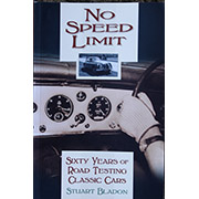 No Speed Limit by Stuart Bladon Signed by author