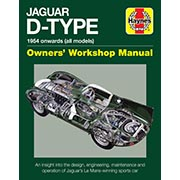 NEW! Jaguar D-TYPE Owners Workshop Manual HAYNES