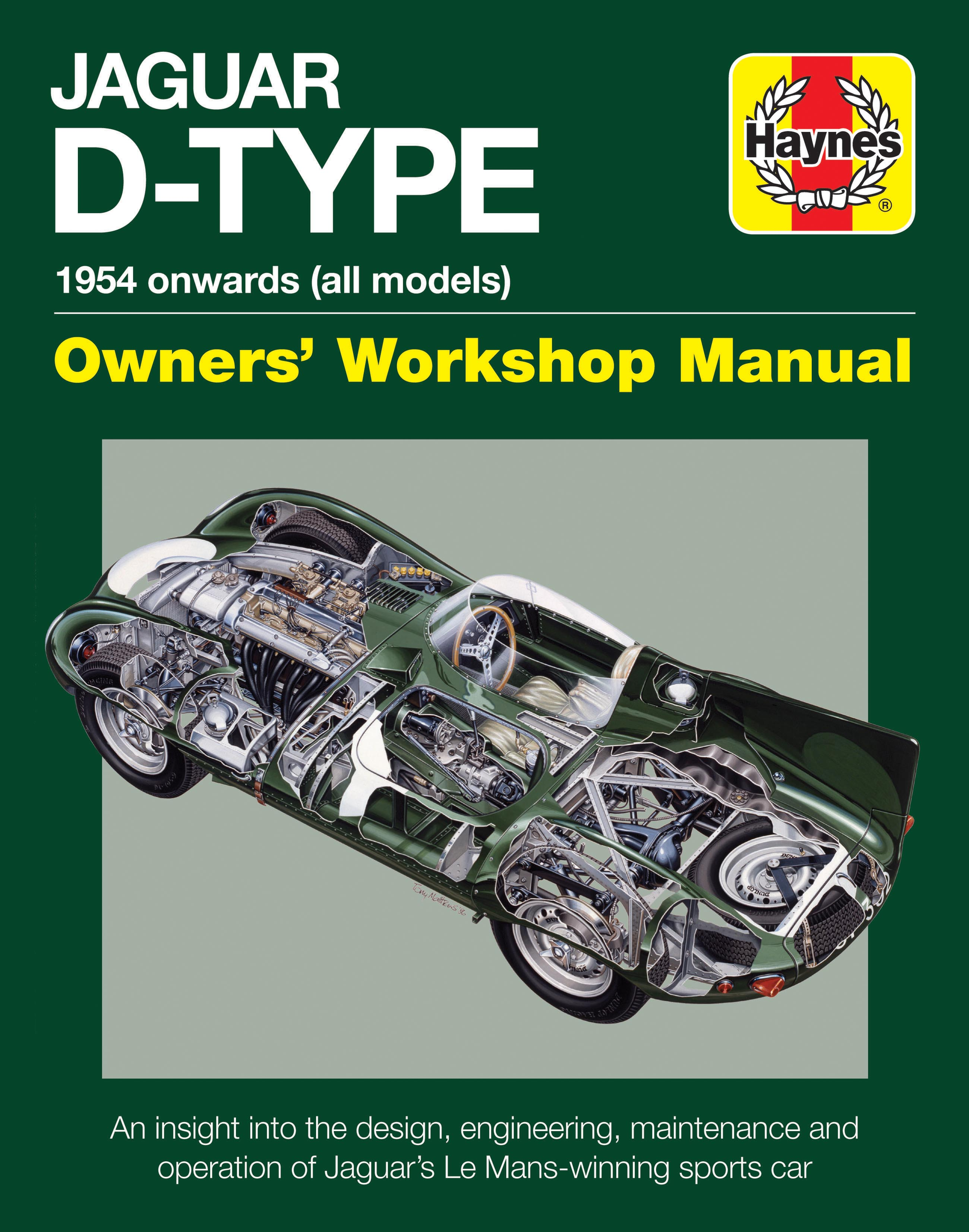 EXAMPLE PAGES To view larger images, open an image in a new Tab. Jaguar  D-type Owners' Workshop Manual ...