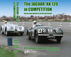 The JAGUAR XK 120 in COMPETITION Jacket Image