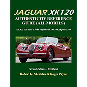 NEW! The Jaguar XK 120 Authenticity Reference Guide
