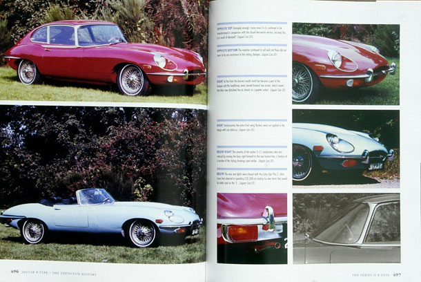 Jaguar E-type Definitive History 2nd Edition by Philip Porter