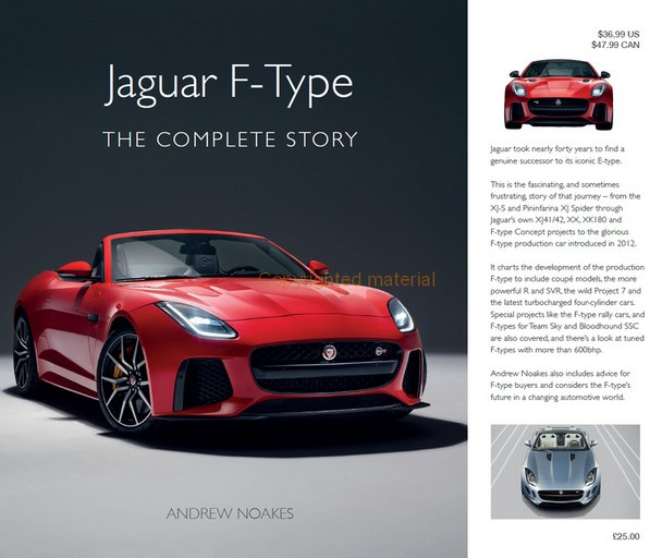 Jaguar F-Type – The Complete Story by Andrew Noakes